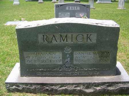 RAMICK, JULIA ANN - Grant County, Arkansas | JULIA ANN RAMICK - Arkansas Gravestone Photos