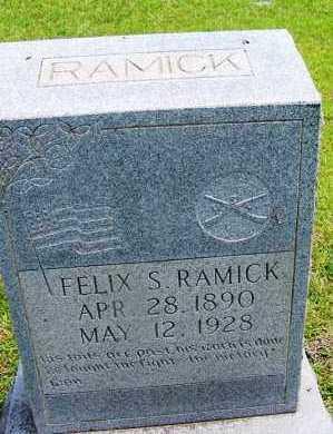 RAMICK (VETERAN), FELIX S - Grant County, Arkansas   FELIX S RAMICK (VETERAN) - Arkansas Gravestone Photos