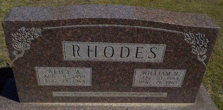 RHODES, WILLIAM R - Grant County, Arkansas | WILLIAM R RHODES - Arkansas Gravestone Photos