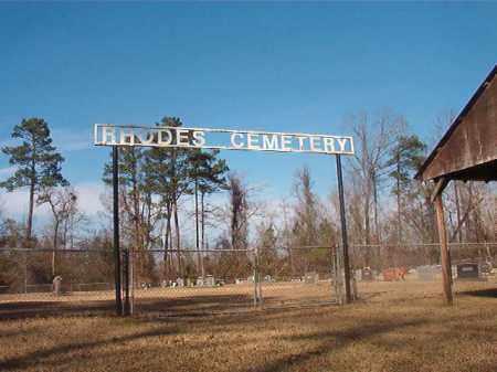 *RHODES CEMETERY,  - Grant County, Arkansas    *RHODES CEMETERY - Arkansas Gravestone Photos