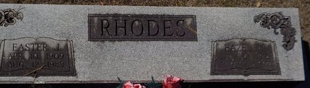 RHODES, HAZEL M - Grant County, Arkansas   HAZEL M RHODES - Arkansas Gravestone Photos
