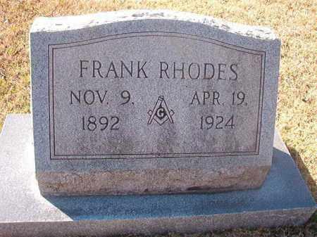 RHODES, FRANK - Grant County, Arkansas   FRANK RHODES - Arkansas Gravestone Photos