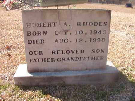RHODES, HUBERT A - Grant County, Arkansas | HUBERT A RHODES - Arkansas Gravestone Photos