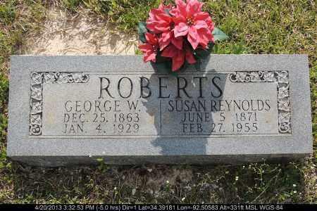 REYNOLDS ROBERTS, SUSAN - Grant County, Arkansas | SUSAN REYNOLDS ROBERTS - Arkansas Gravestone Photos