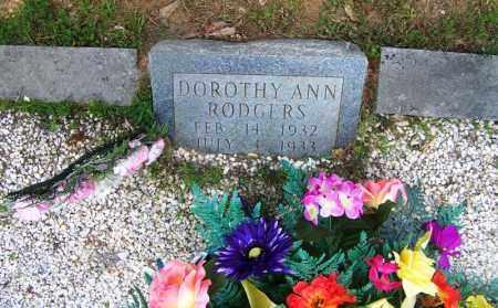 RODGERS, DOROTHY ANN - Grant County, Arkansas | DOROTHY ANN RODGERS - Arkansas Gravestone Photos