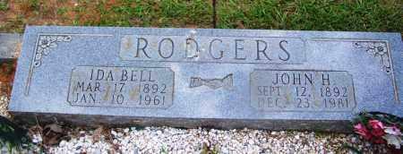 RODGERS, JOHN H - Grant County, Arkansas   JOHN H RODGERS - Arkansas Gravestone Photos