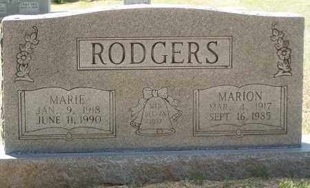 RODGERS, MARION - Grant County, Arkansas | MARION RODGERS - Arkansas Gravestone Photos