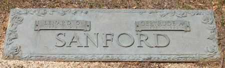 SANFORD, GERTRUDE A. - Grant County, Arkansas   GERTRUDE A. SANFORD - Arkansas Gravestone Photos