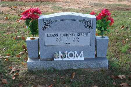 SEBREE, LEEANN - Grant County, Arkansas | LEEANN SEBREE - Arkansas Gravestone Photos