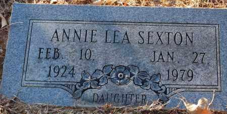 SEXTON, ANNIE LEA - Grant County, Arkansas   ANNIE LEA SEXTON - Arkansas Gravestone Photos