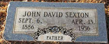 SEXTON, JOHN DAVID - Grant County, Arkansas | JOHN DAVID SEXTON - Arkansas Gravestone Photos