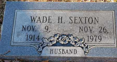 SEXTON, WADE H - Grant County, Arkansas | WADE H SEXTON - Arkansas Gravestone Photos