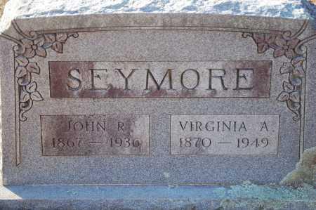 SEYMORE, JOHN R - Grant County, Arkansas | JOHN R SEYMORE - Arkansas Gravestone Photos