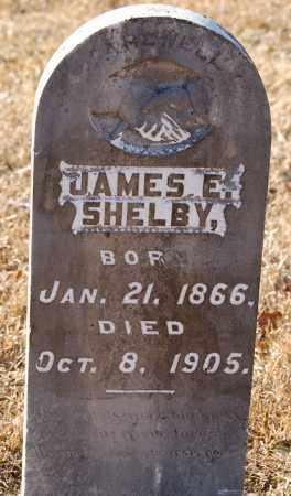 SHELBY, JAMES E. - Grant County, Arkansas | JAMES E. SHELBY - Arkansas Gravestone Photos