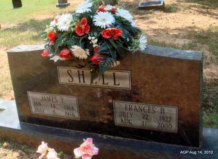 SHELL, JAMES T - Grant County, Arkansas | JAMES T SHELL - Arkansas Gravestone Photos