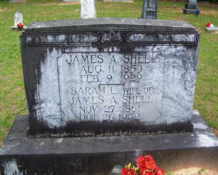SHELL, JAMES A - Grant County, Arkansas | JAMES A SHELL - Arkansas Gravestone Photos