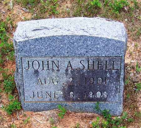 SHELL, JOHN A - Grant County, Arkansas | JOHN A SHELL - Arkansas Gravestone Photos