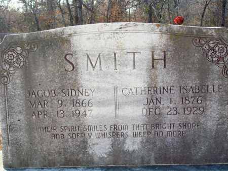 SMITH, CATHERINE ISABELLE - Grant County, Arkansas | CATHERINE ISABELLE SMITH - Arkansas Gravestone Photos