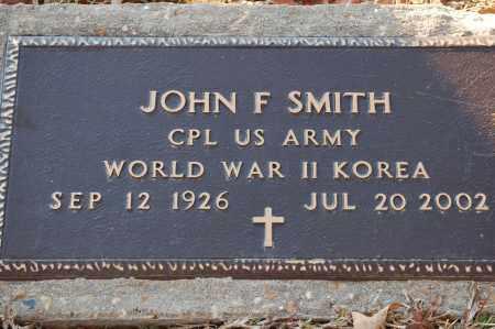 SMITH (VETERAN 2 WARS), JOHN F - Grant County, Arkansas | JOHN F SMITH (VETERAN 2 WARS) - Arkansas Gravestone Photos