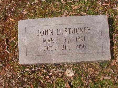 STUCKEY, JOHN H - Grant County, Arkansas | JOHN H STUCKEY - Arkansas Gravestone Photos