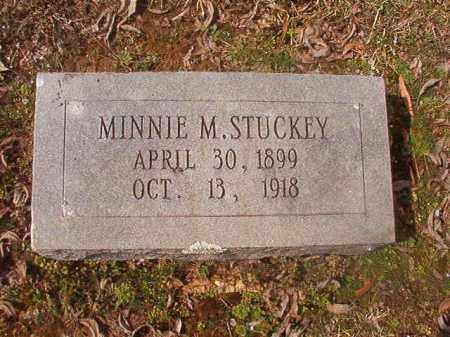 STUCKEY, MINNIE M - Grant County, Arkansas | MINNIE M STUCKEY - Arkansas Gravestone Photos