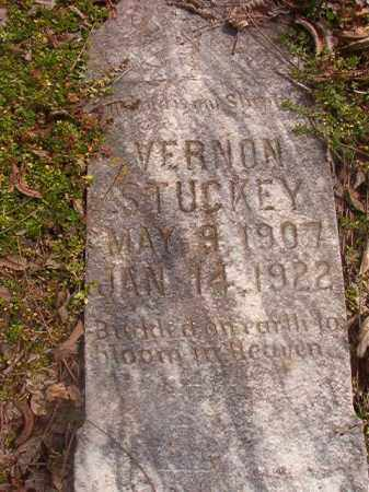 STUCKEY, VERNON - Grant County, Arkansas | VERNON STUCKEY - Arkansas Gravestone Photos