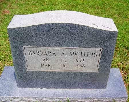SWILLING, BARBARA A - Grant County, Arkansas   BARBARA A SWILLING - Arkansas Gravestone Photos