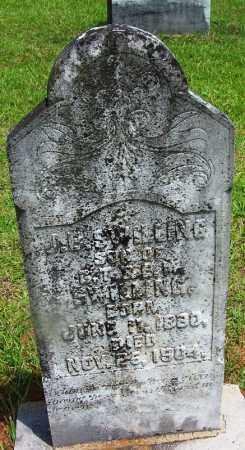 SWILLING, J B - Grant County, Arkansas | J B SWILLING - Arkansas Gravestone Photos