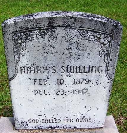 SWILLING, MARY S - Grant County, Arkansas | MARY S SWILLING - Arkansas Gravestone Photos