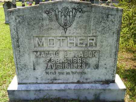 TABOR, MAGGIE E. - Grant County, Arkansas | MAGGIE E. TABOR - Arkansas Gravestone Photos