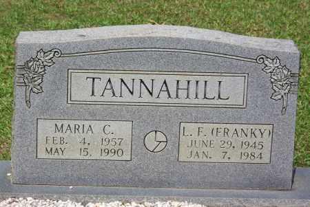 TANNAHILL, MARIA C - Grant County, Arkansas | MARIA C TANNAHILL - Arkansas Gravestone Photos