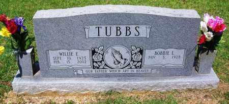 TUBBS, WILLIE E - Grant County, Arkansas | WILLIE E TUBBS - Arkansas Gravestone Photos