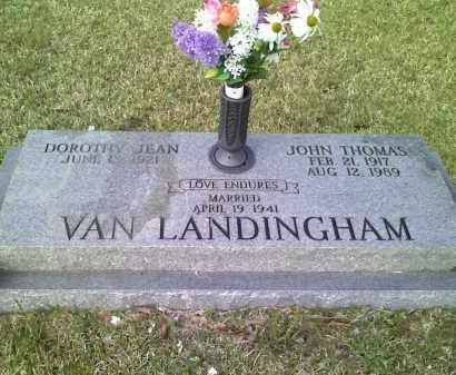 VAN LANDINGHAM, JOHN THOMAS - Grant County, Arkansas | JOHN THOMAS VAN LANDINGHAM - Arkansas Gravestone Photos