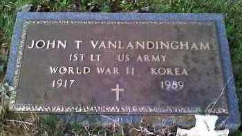 VAN LANDINGHAM (VETERAN 2 WARS, JOHN THOMAS - Grant County, Arkansas | JOHN THOMAS VAN LANDINGHAM (VETERAN 2 WARS - Arkansas Gravestone Photos