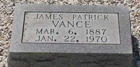 VANCE, JAMES PATRICK - Grant County, Arkansas | JAMES PATRICK VANCE - Arkansas Gravestone Photos