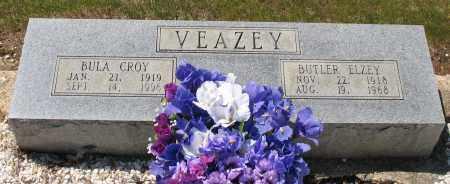 CROY VEAZEY, BULA - Grant County, Arkansas | BULA CROY VEAZEY - Arkansas Gravestone Photos