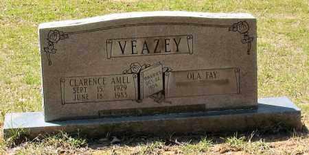 VEAZEY, CLARENCE AMEL - Grant County, Arkansas | CLARENCE AMEL VEAZEY - Arkansas Gravestone Photos