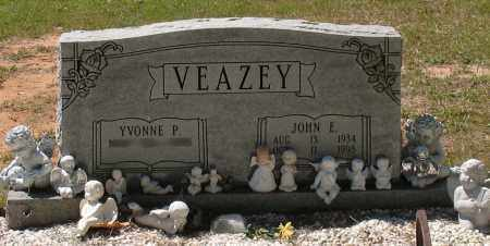 VEAZEY, JOHN E - Grant County, Arkansas | JOHN E VEAZEY - Arkansas Gravestone Photos