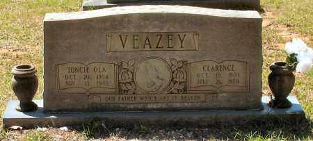 VEAZEY, TONCIE OLA - Grant County, Arkansas | TONCIE OLA VEAZEY - Arkansas Gravestone Photos