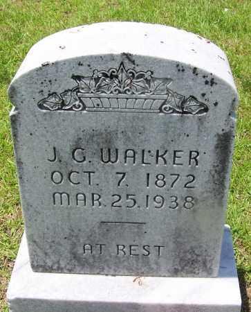 WALKER, J G - Grant County, Arkansas | J G WALKER - Arkansas Gravestone Photos