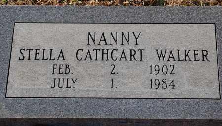"CATHCART WALKER, STELLA ""NANNY"" - Grant County, Arkansas | STELLA ""NANNY"" CATHCART WALKER - Arkansas Gravestone Photos"