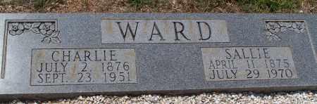 WARD, SALLIE - Grant County, Arkansas | SALLIE WARD - Arkansas Gravestone Photos