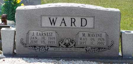 WARD, J. EARNEST - Grant County, Arkansas | J. EARNEST WARD - Arkansas Gravestone Photos
