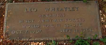 WHEATLEY (VETERAN WWII), LEO - Grant County, Arkansas   LEO WHEATLEY (VETERAN WWII) - Arkansas Gravestone Photos