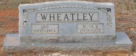 WHEATLEY, LEO - Grant County, Arkansas | LEO WHEATLEY - Arkansas Gravestone Photos