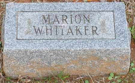 WHITAKER, FRANCIS MARION - Grant County, Arkansas | FRANCIS MARION WHITAKER - Arkansas Gravestone Photos
