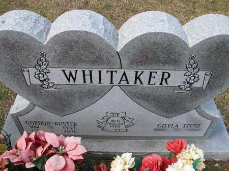 WHITAKER, GORDON BUSTER - Grant County, Arkansas | GORDON BUSTER WHITAKER - Arkansas Gravestone Photos