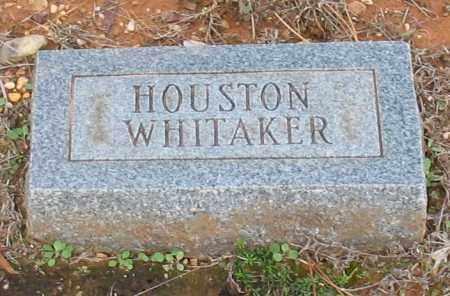 WHITAKER, HOUSTON - Grant County, Arkansas   HOUSTON WHITAKER - Arkansas Gravestone Photos