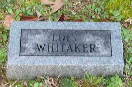 WHITAKER, LOIS - Grant County, Arkansas   LOIS WHITAKER - Arkansas Gravestone Photos