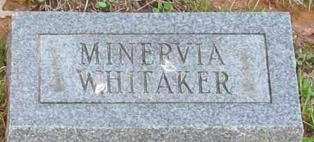 WHITAKER, MINERVIA - Grant County, Arkansas | MINERVIA WHITAKER - Arkansas Gravestone Photos